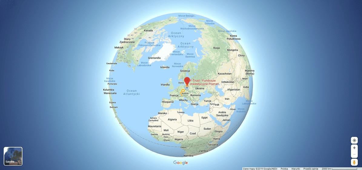 Twoja firma w mapach Google - grafika